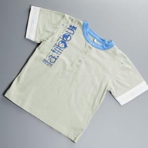 Tshirt manches courtes garçon couleur Kimi green