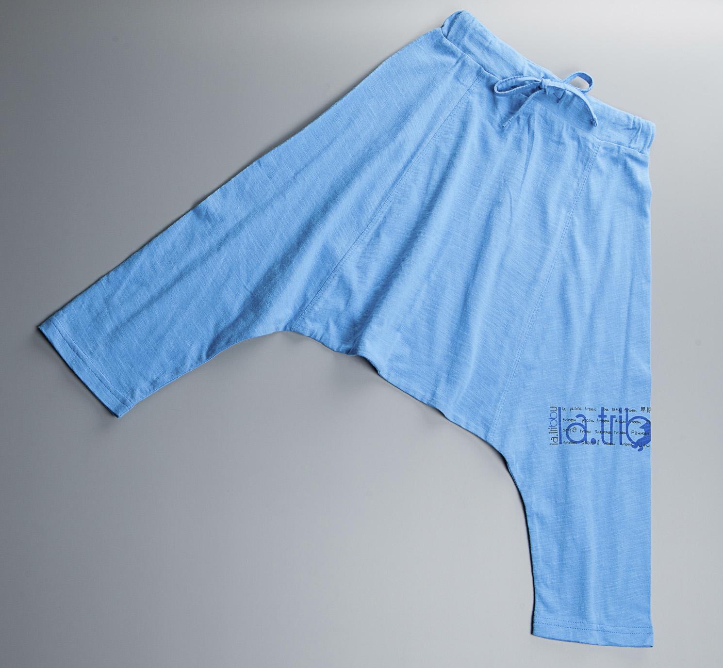 Saourel Bleu Nil garçon mode et confort