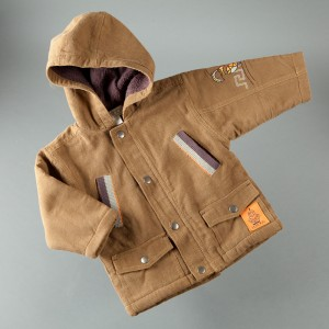 P325 veste capuche chico brown