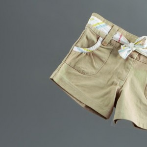 V356 DIEM SHORT soft khaki