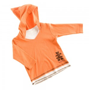 I19 TS capuche ML orange