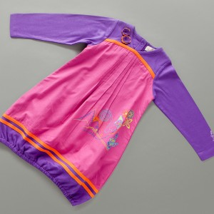 P564 PLACA robe deep purple